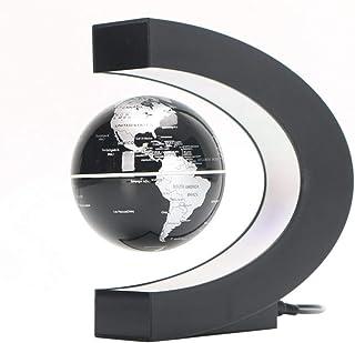 mappamondo Rotante a levitazione Magnetica con Decorazione a LED EU Plug Wosume Globo Galleggiante Wocume