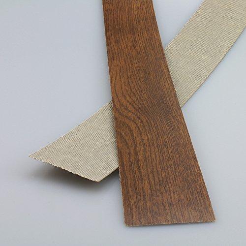 Preisvergleich Produktbild Kantenumleimer für Mehrzweckplatten Eiche Dunkel 610 x 43 mm