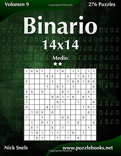 Binario 14x14 - Medio - Volumen 9 - 276 Puzzles
