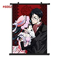 黒執事アニメマンガウォールポスタースクロールホームデコレーションウォールアート16x24inch / 40x60cm