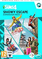The Sims 4 Snowy Escape Expansion Pack (PC Download Code) (PC Code in Box) (輸入版)