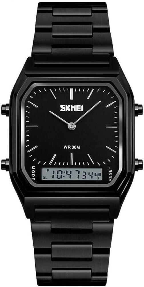 Louisville-Jefferson County Mall Unisex Wrist Time sale Watch Waterproof Military Analog Watches w Digital