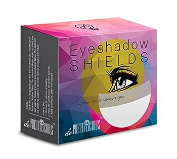 On Sales! de Prettilicious Eyeshadow Shield 100 pieces FREE BEAUTY E-BOOK Eye Shadow Shields Mascara Eyelash Guard Protector Cosmetic Application