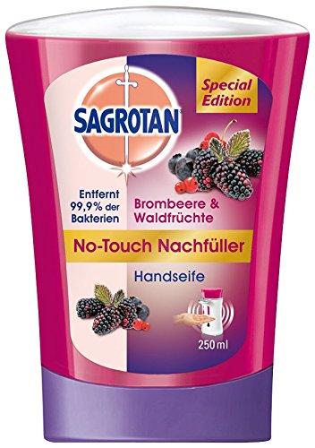Sagrotan No-Touch Nachfüller Brombeere und Waldfrüchte, 5er Pack (5 x 250 ml)