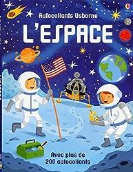 Cahiers d'activités sur l'espace - Autocollants Usborne