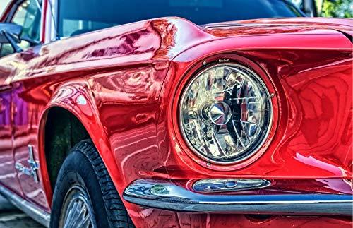 Mi coche DIY pintura para colorear por número de herramientas imagen hermosa pintura por números regalo sorpresa suministros de arte A4 60x75cm