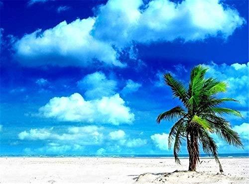 New Puzzle per 1000 pezzi Estate Acqua Mare Oceano Sole Paesaggio Isola Puzzle Paesaggio Panorama Vista geografica nazionale Puzzle in legno Bambini e adulti Regalo di compleanno (75 * 50 cm)