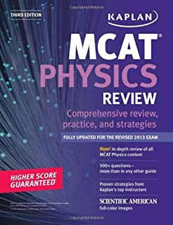 Kaplan MCAT Physics Review Notes (Kaplan Test Prep)