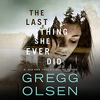 The Last Thing She Ever Did audiobook cover art