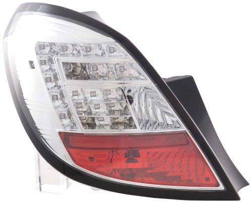 FK Automotive FKRLXLOP12013 LED Feux arrière, Chromé