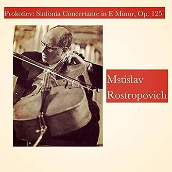 Prokofiev: Sinfonia Concertante in E Minor, Op. 125