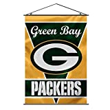 Fremont Die NFL Green Bay Packers Wall Banner, 28' x 40', 28' x 40', Team Colors