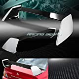 REAL CARBON FIBER REAR TRUNK SPOILER WING Compatible with MITSUBISHI LANCER EVO 8/9 02-07