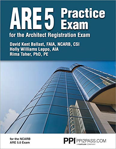 PPI ARE 5 Practice Exam for the Architect Registration Exam, 1st Edition (Paperback) – Comprehensi