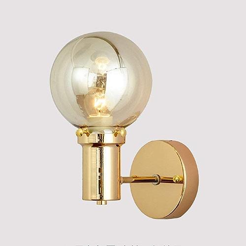 Wall lamp éclairage, lumière Murale Minimaliste Moderne, personnalité Chambre tête de lit Salle de séjour Simple Salle à Manger Salle Aile Balcon intérieur Lampe Murale (15 cm  25 cm)