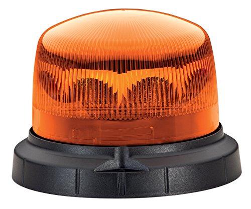 HELLA 2XD 012 480-001 Rundumkennleuchte - KLX 1 - LED - Lichtscheibenfarbe: gelb - Anbau
