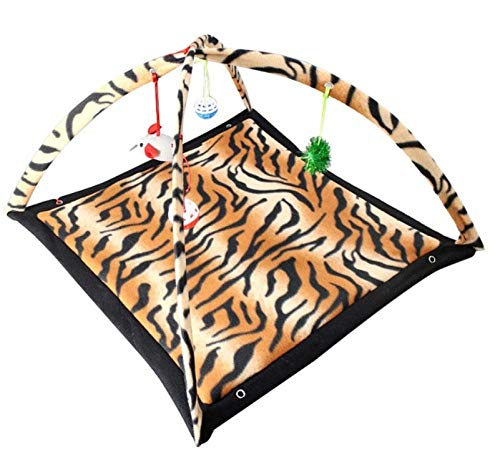 Pet Nest Kennelpet Cat Grappige hangmat en speelgoed Kitten Cat Play Slaapmeubilair Tentbal Cat