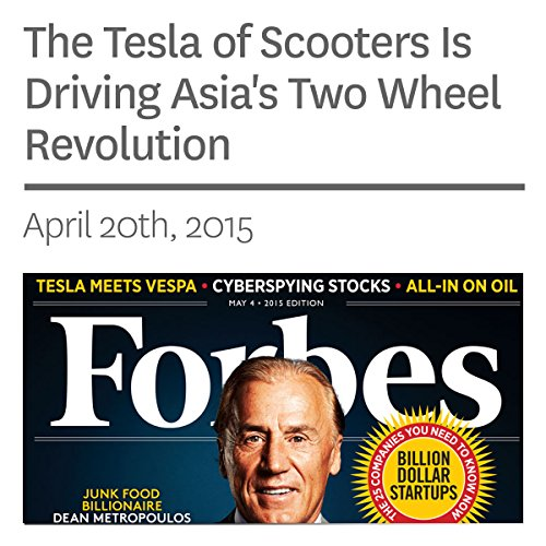 The Tesla of Scooters Is Driving Asia's Two Wheel Revolution