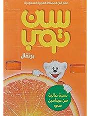 عصير برتقال من صن توب، 18 × 125 مل