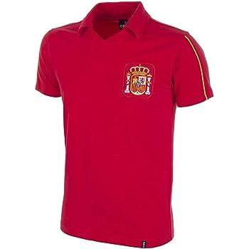 Copa Football - Camiseta Retro España años 1980 (M): Amazon.es: Deportes y aire libre