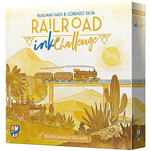 Railroad Ink: Edición Amarilla - Juego de Mesa en Español
