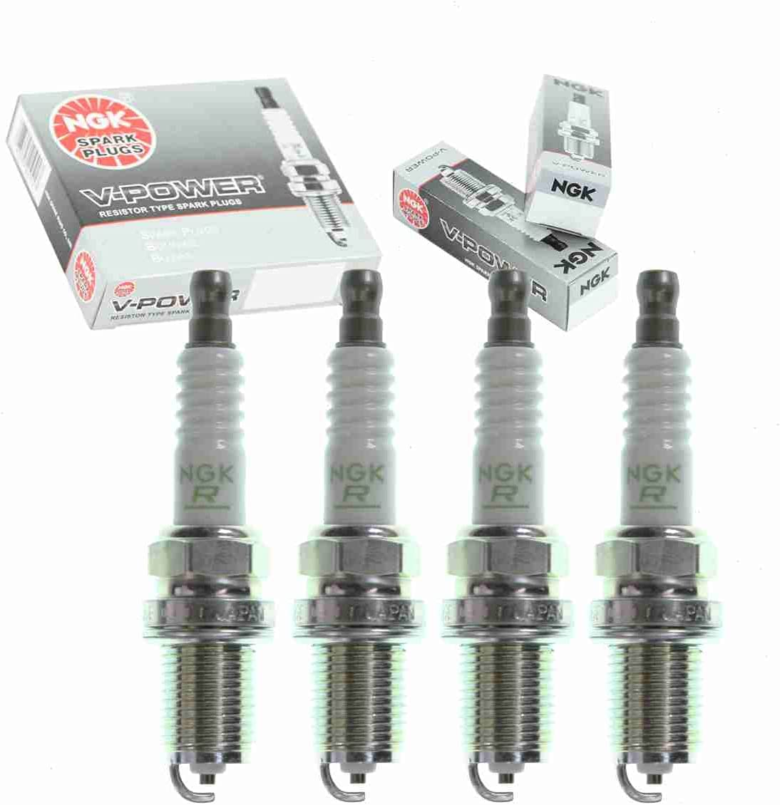 4 pc NGK V-Power Al sold out. Spark Ranking TOP12 Plugs compatible Camry Toyota 2.2L with 2