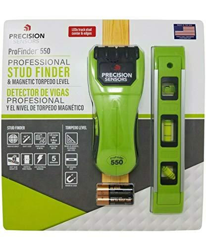 Precision Sensors ProFinder 550 Professional Stud Finder amp Magnetic Level