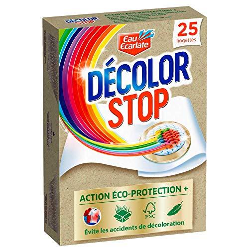 Décolore Stop Eco Protection Lingettes Anti Décoloration