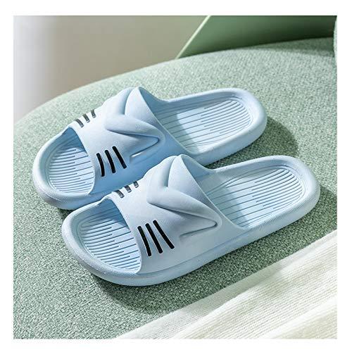 YHshop Pantuflas Playa Zapatillas de Verano Femenino Lindo casa Interior de Moda casero Chicas baño baño baño Sandalias Sandalias (Color : C, Size : 40-41)