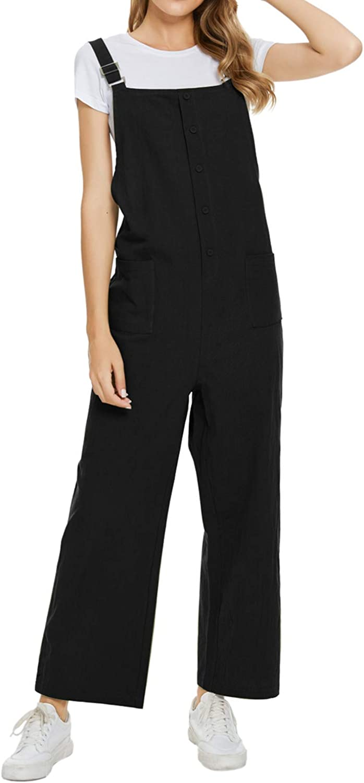 Unifizz Women Casual Fashion Denim Bib Overall
