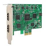 KIKYO Tarjeta de Video, Adaptador de Tarjeta controladora PCI-E, capturador 4K con Salida de Bucle Calidad HD ampliamente Utilizado en Sistemas/Sistemas Mac
