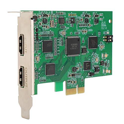 Tarjeta de video, 1920X1080P60Fps Grabador en tiempo real de calidad de ultra alta definición Adecuado para función de audio y video HD