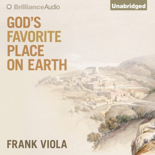 God's Favorite Place on Earth audiobook cover art
