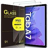 IVSO Bildschirmschutz für Samsung Galaxy Tab A7 10.4 2020, 9H Festigkeit, 2.5D, Samsung Galaxy Tab A7 T505/T500/T507 10.4 Zoll 2020 Panzerglas Bildschirmfolie Schutzglas Bildschirmschutz, (2 x)