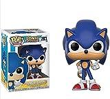 A-Generic Pop Vinyl Pop Figurine! Sonic con colección de Anillo de Vinilo por Sonic