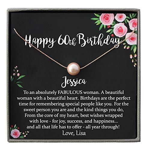 Happy 60th Birthday925 Sterling Silver PendantBirthday GiftsCZ PendantsGifts For WomenBirthday Gifts Sterling Silver Granda Pendant