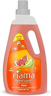 Fiama Happy Moisturising hand wash, Grapefruit and Bergamot, 1000ml refill pack