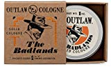 Outlaw The Badlands Solid Cologne - Your Smoky Sidekick for a Life of Adventure - Campfire and Wood in a Pocket-Sized Tin - Men's or Women's Cologne - 1 oz.