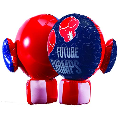 Franklin Sports Inflatable Boxing Gloves - Future Champs - Jumbo Inflated Size - 20 x 13.5 inches