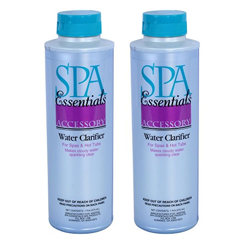 Spa Essentials 32612000-02 Water Clarifier for Spas and Hot Tubs, 1-Pint, 2-Pack