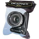 Dicapac WP-H10 Custodia Waterproof per Fotocamera reflex, Tenuta Stagna fino a 10 metri, Lente in Policarbonato con Protezione UV