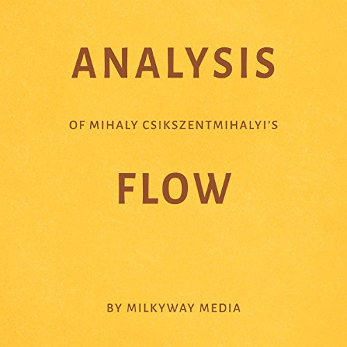 『Analysis of Mihaly Csikszentmihalyi's Flow』のカバーアート