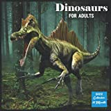Dinosaurs For Adults Calendar 2022: Official Dinosaurs Calendar 2022 For Adulats, 16 Month Square Calendar