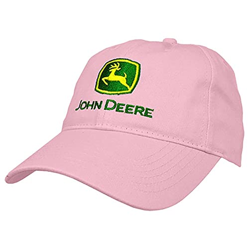 535b77ba45e John Deere I Love JD Hat - Pink