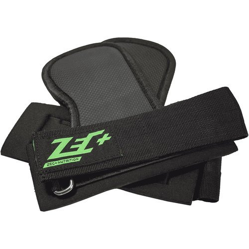 ZEC+ Trainingshilfe Handgelenke Lifting Grips in Schwarz