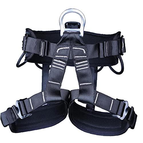 Arnés De Escalada Cintura Cadera Protección del Cinturón De Seguridad para Alpinismo Cuerpo Salvador Escalada