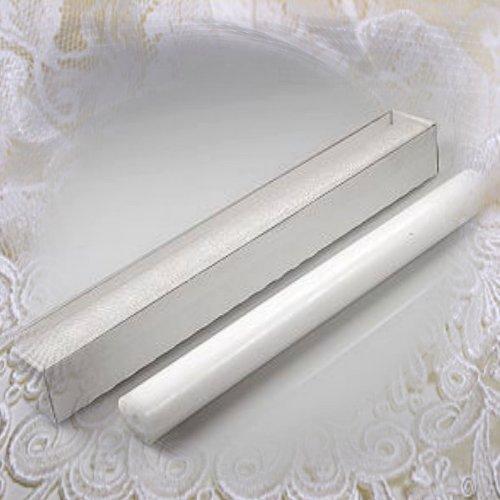 Aufbewahrungskarton für Taufkerze Kommunionkerze 400x40mm Mit Klarsichtdeckel ITP080