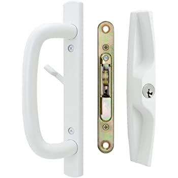 Amazon Com Sliding Patio Door Handle Set For Milgard White Home Improvement