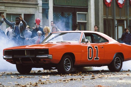 Póster del General Lee The Dukes Of Hazzard Dodge Charger