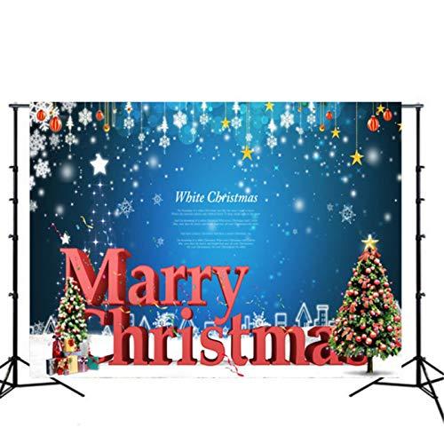 BGROESTWB Fondos de Estudio de Fotos 60cm * 90cm * 90cm * 150cm 150cm 210cm Fotografía Navidad Fondo de Vinilo Fondo del paño Fondo de la Foto (Color : G, Size : 150cm*210cm)